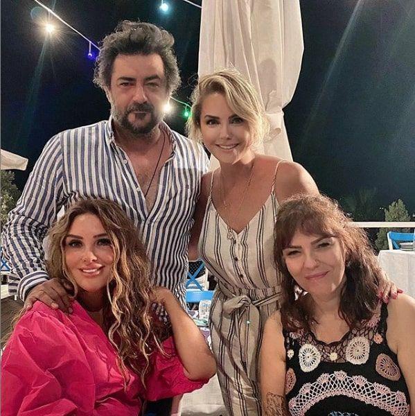 Alaattin Çakıcı ile Ece Erken ve sevgilisi Şafak Mahmutyazıcıoğlu fotoğrafını paylaştı
