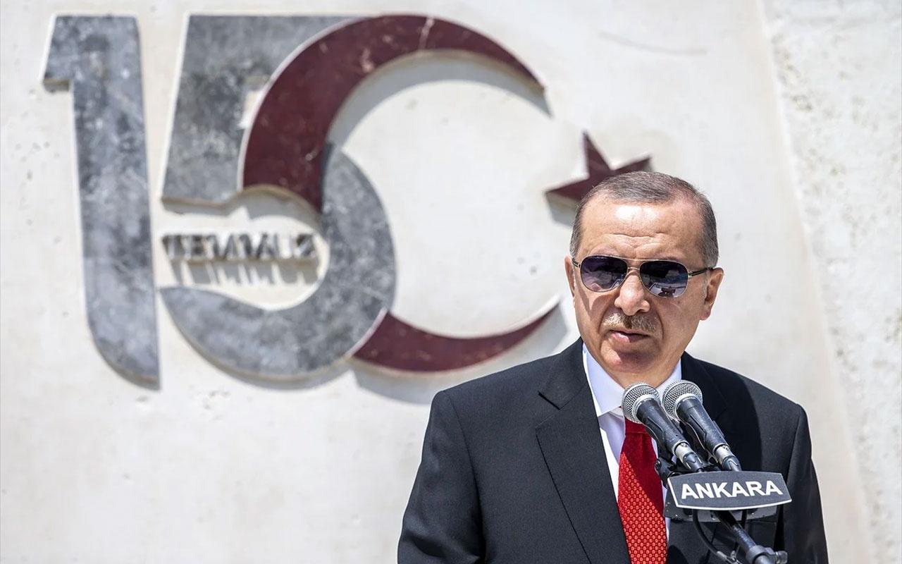 Erdoğan'dan 15 Temmuz töreninde tarihi açıklamalar! Gelin deyip herkese çağrı yaptı