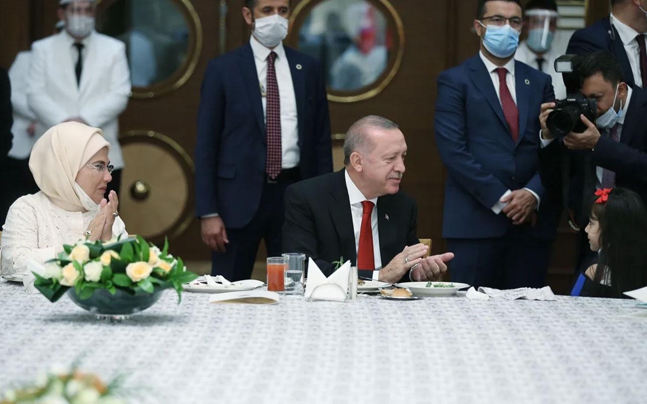 15 Temmuz şehitlerinin yakınları Erdoğan'la biraraya geldi