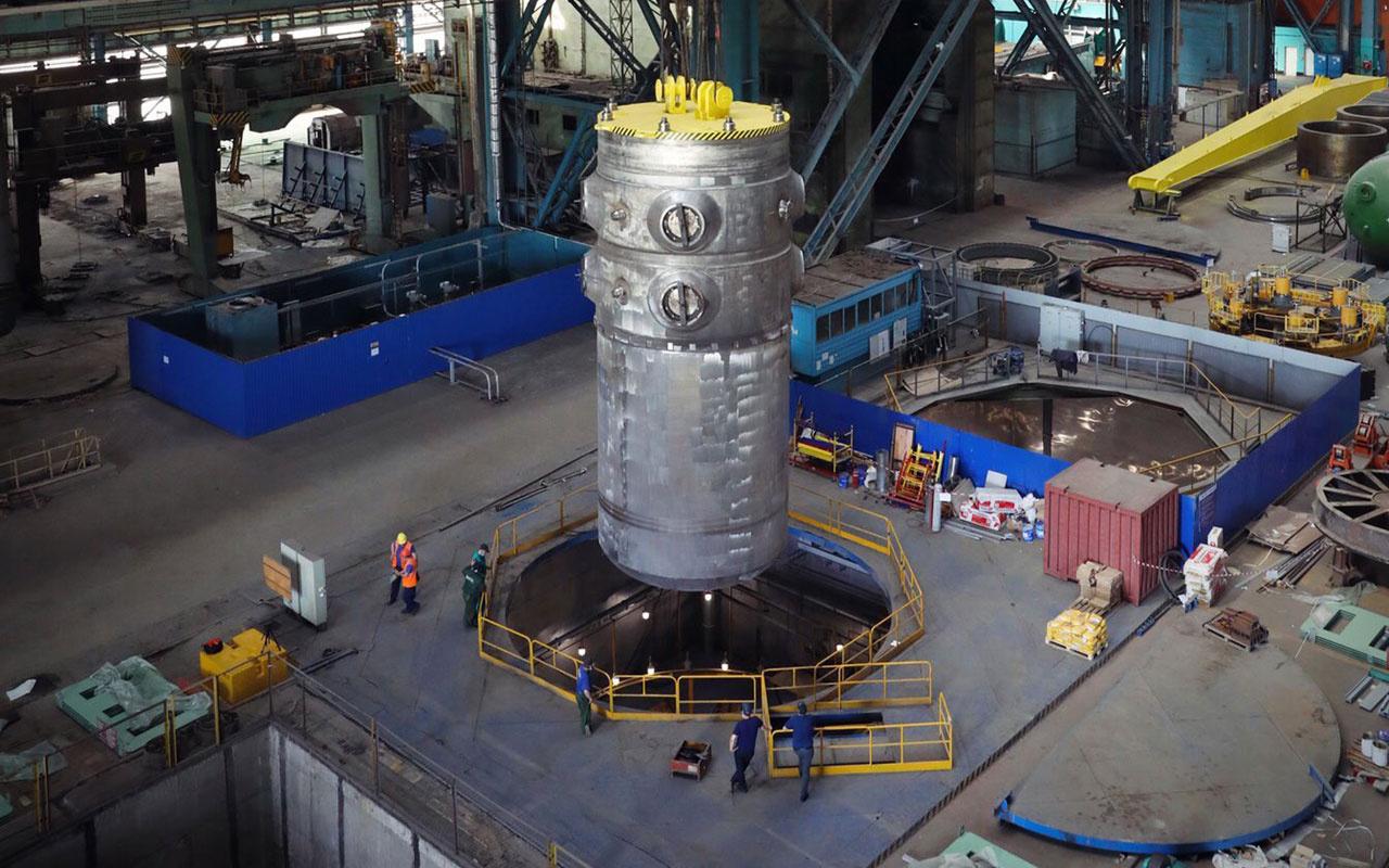 Akkuyu Nükleer Santrali ilk ünitesi için kilit aşama tamam