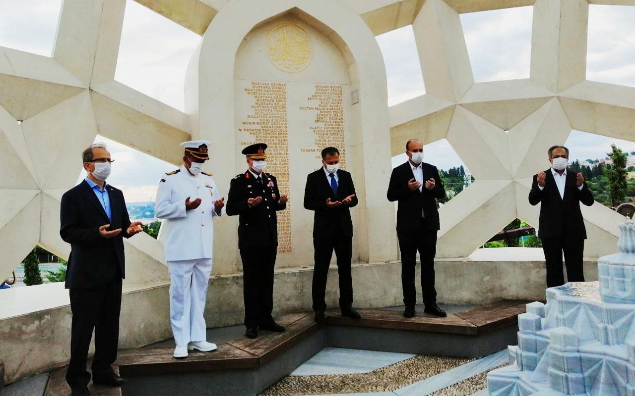İstanbul Valisi Ali Yerlikaya 15 Temmuz Şehitler Anıtı'nı ziyaret etti