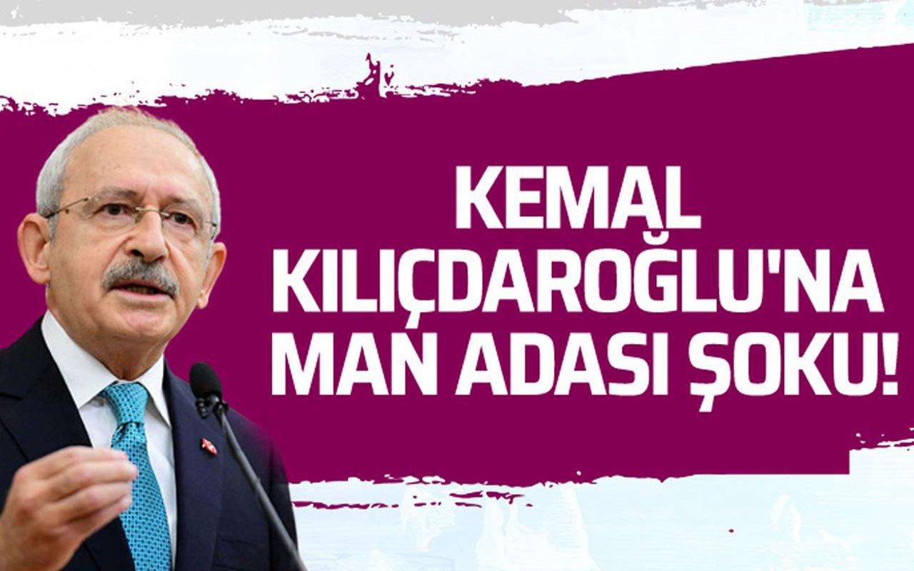 Kemal Kılıçdaroğlu'na Man Adası şoku!