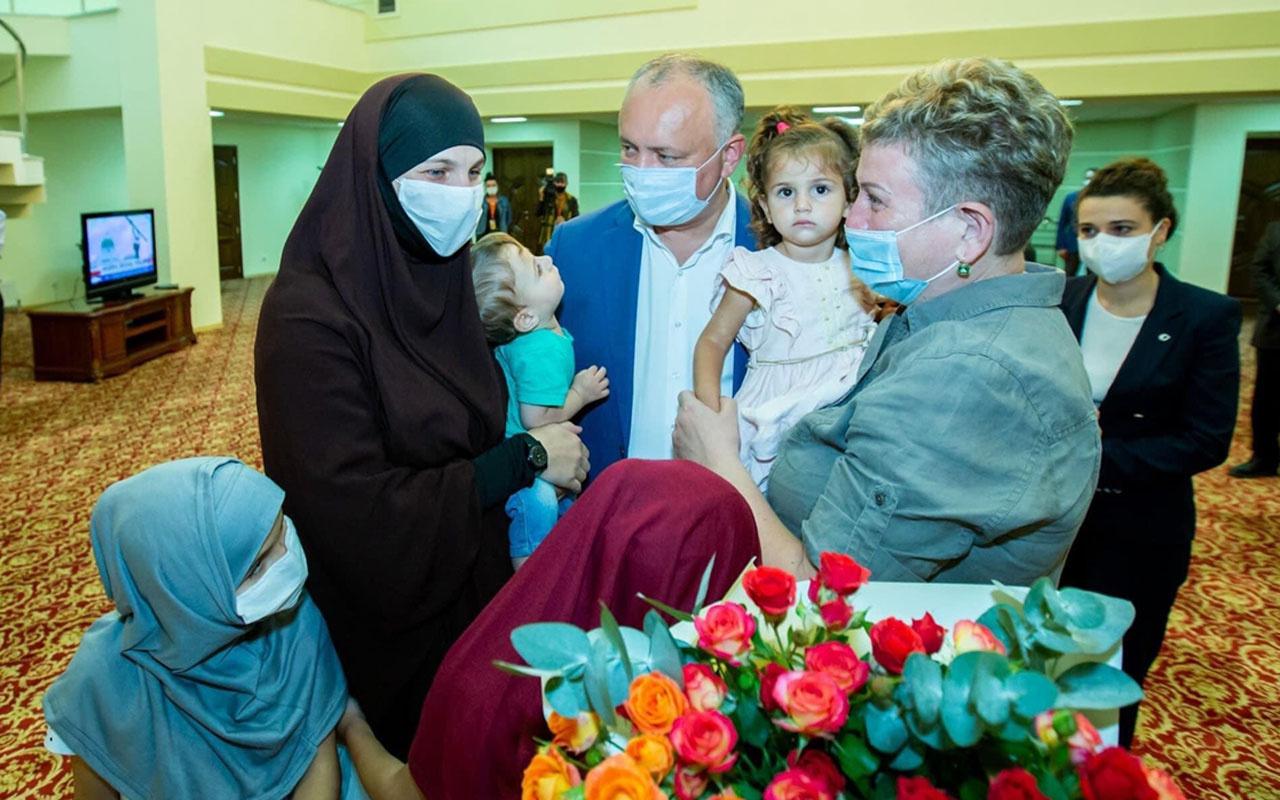 Suriye'de MİT operasyonu Natalia Barkal ve 4 çocuğu YPG'nin kampından kurtarıldı