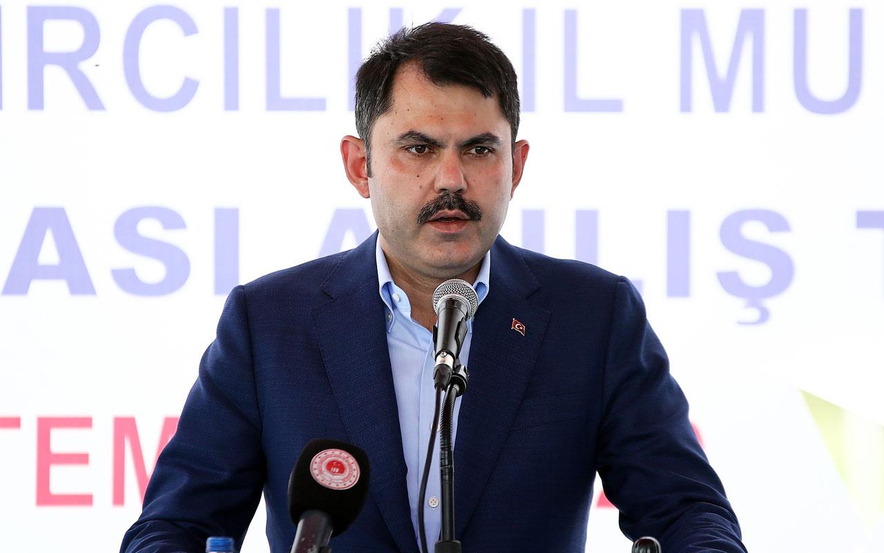 Bakan Murat Kurum açıkladı: Şu an itibarıyla 940 bin konuta ulaştık
