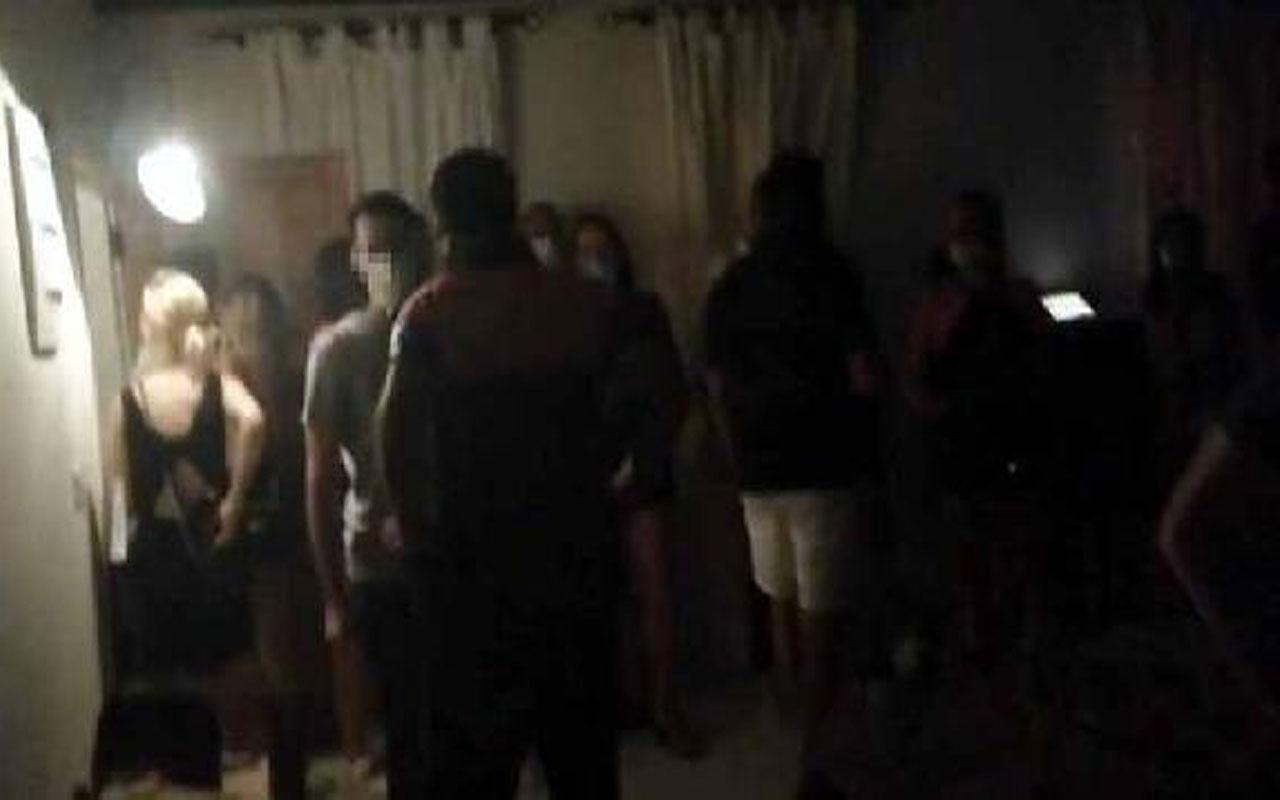 Rezidansta parti yapan 25 kişiye 78 bin lira ceza