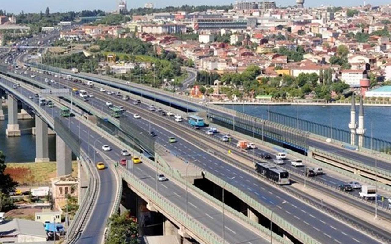 Haliç Köprüsü'nde yol çalışması başladı