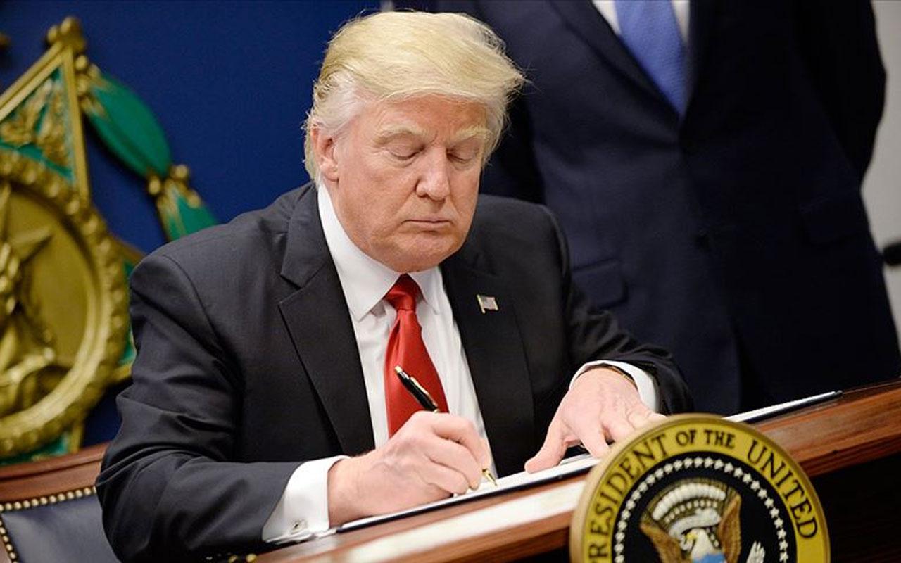 ABD Başkanı Trump: 'Haftaya İran'a yönelik yeni yaptırımlar açıklayacağım'