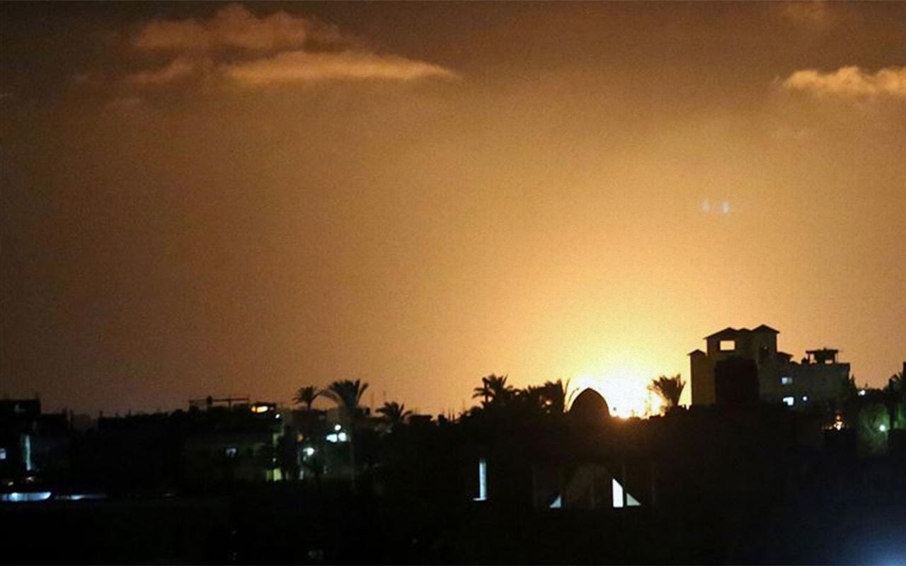 Esed rejimi İsrail'in Şam'a hava saldırısı düzenlediğini iddia etti
