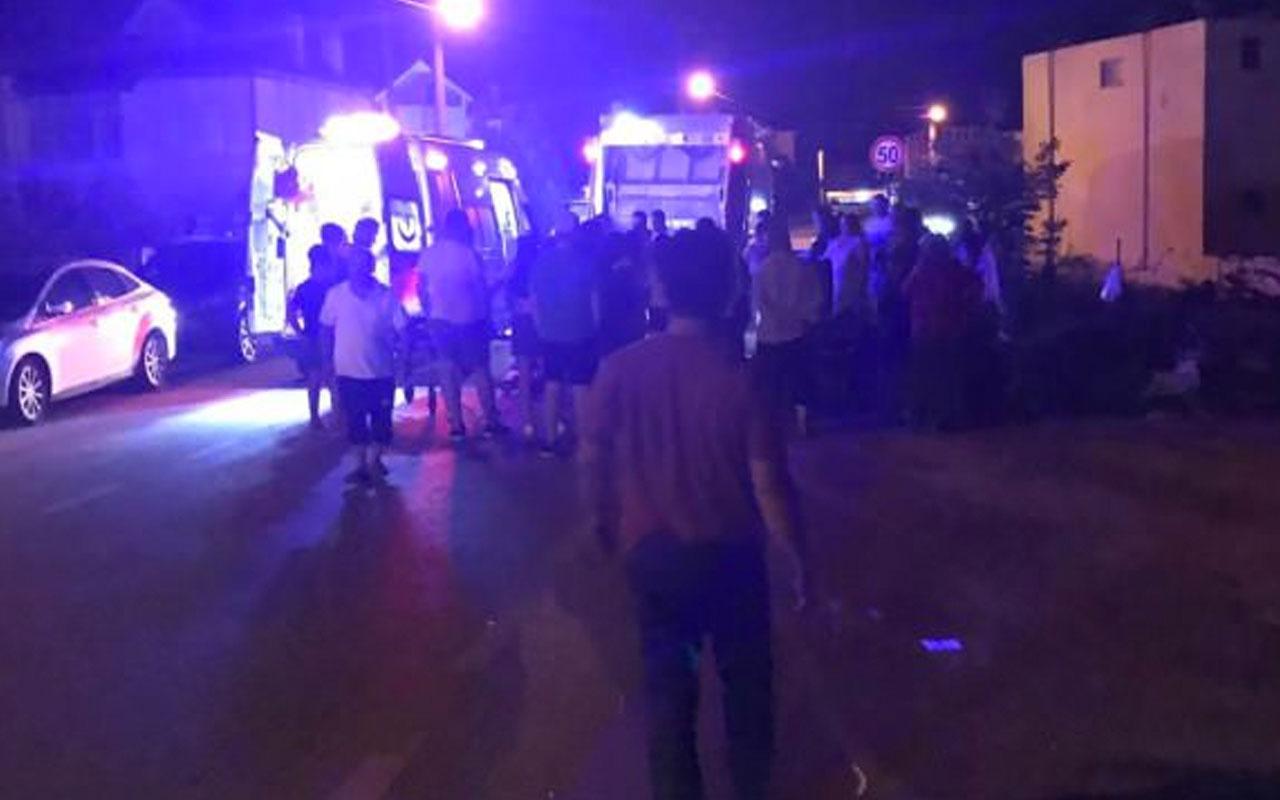 Kocaeli'de belediyenin çöp kamyonu saklambaç oynayan çocukları ezdi