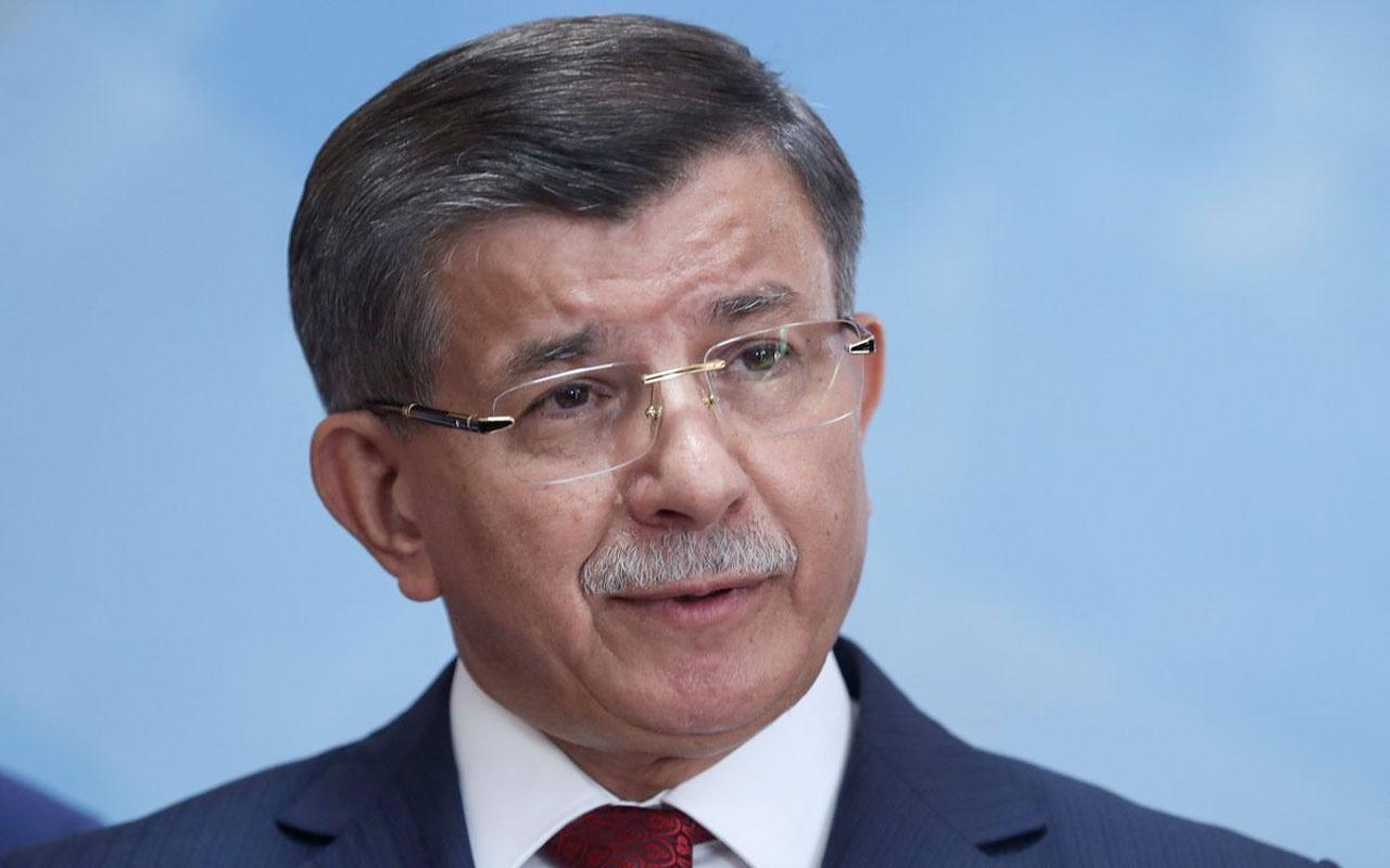 Gelecek Partisi lideri Ahmet Davutoğlu'ndan 'FETÖ'nün siyasi ayağı' açıklaması