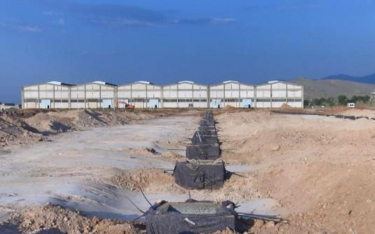 Kızılay Malatya'ya Barınma Sistemleri Fabrikası kuruyor!