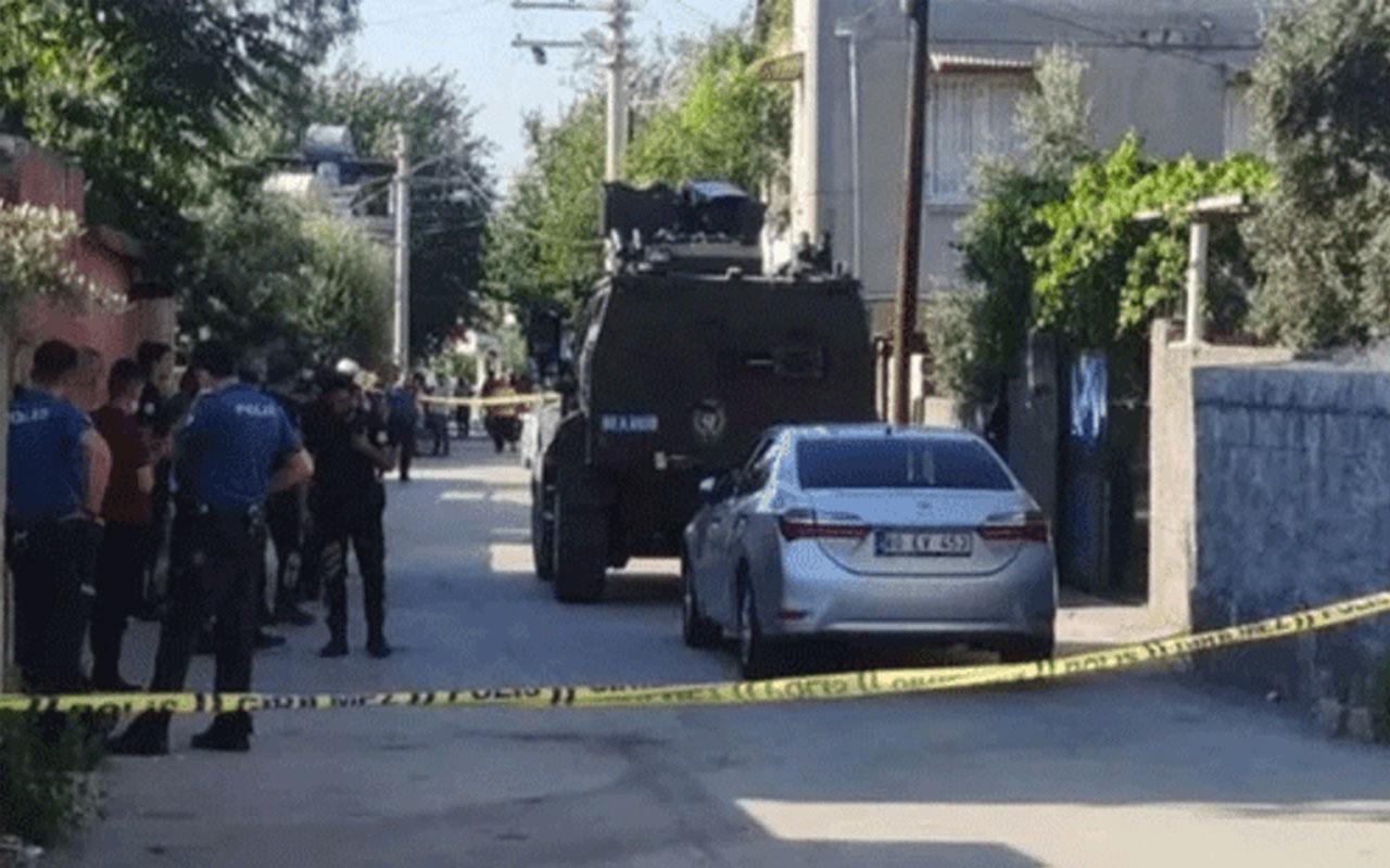 Osmaniye'de evinde polisle çatışan şahıs vurularak öldürüldü