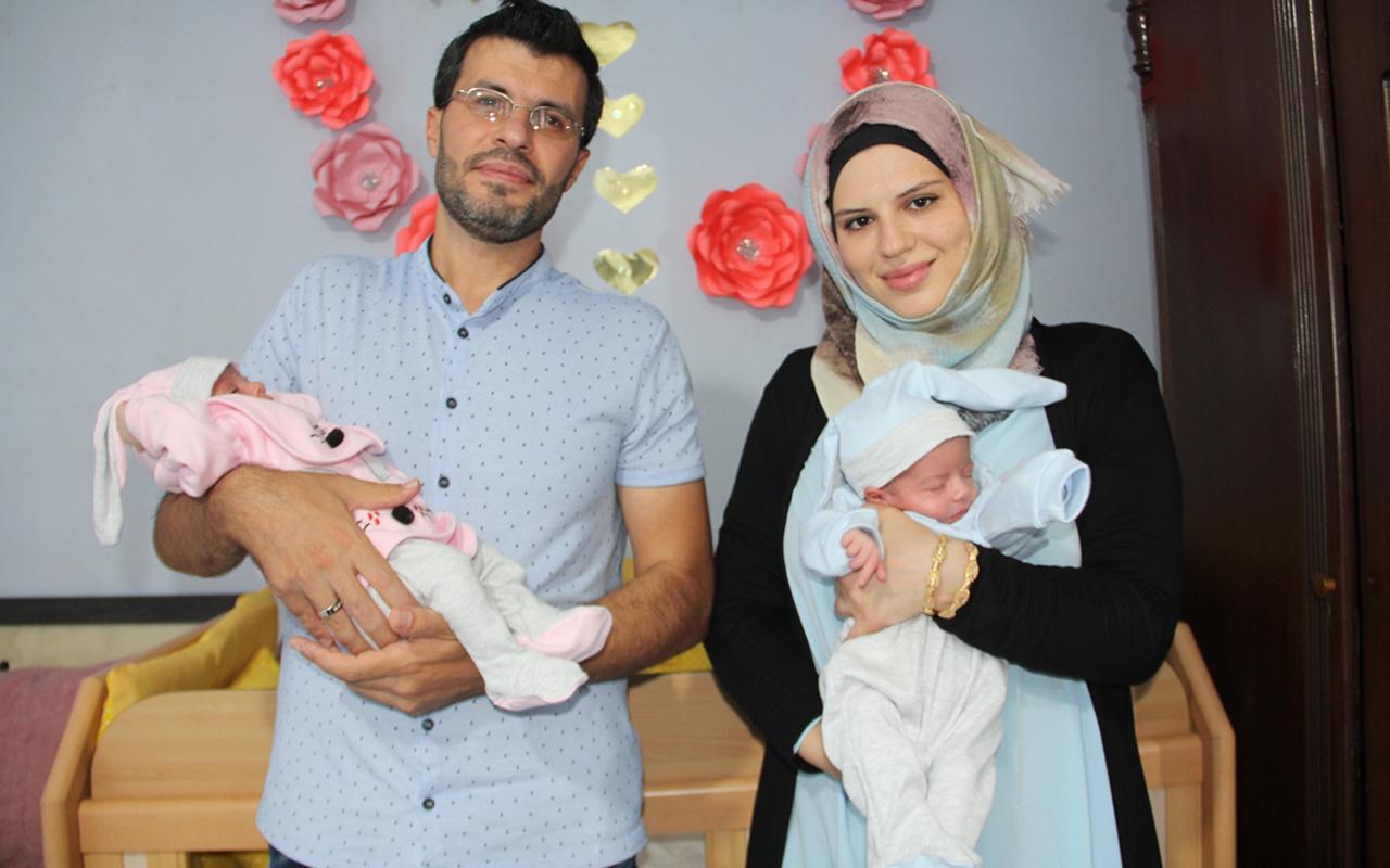 Suriyeli ikiz bebekler tarihi yaşatacak İsimleri 'Aya' ve 'Sofya' oldu