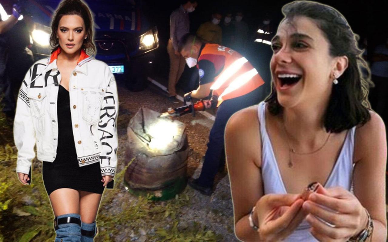Demet Akalın Pınar Gültekin için attığı densiz 'varil' twitini savundu!