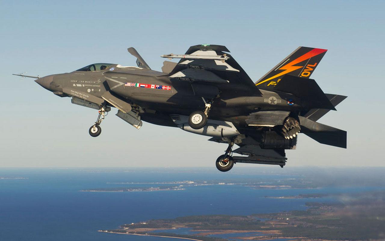 Türkiye'nin F-35'leri ABD'ye devredildi