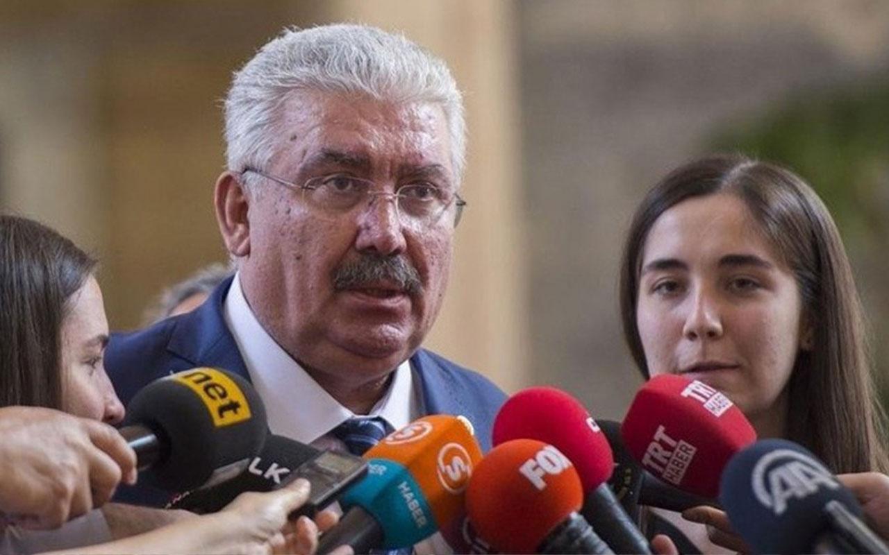MHP'li Yalçın'dan Davutoğlu'na tepki: Amacı onu azledenlerden intikam almak