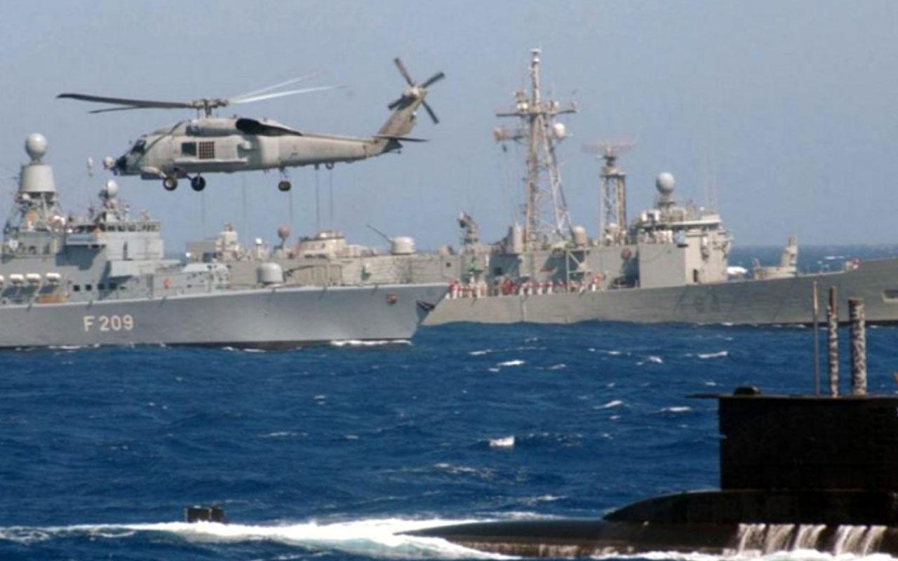 Yunan donanması Ege'ye savaş gemileri konuşlandırdı