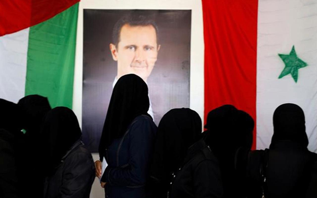 Suriye'de iç savaşın gölgesinde seçim! Esad'ın partisi çoğunluğu kazandı