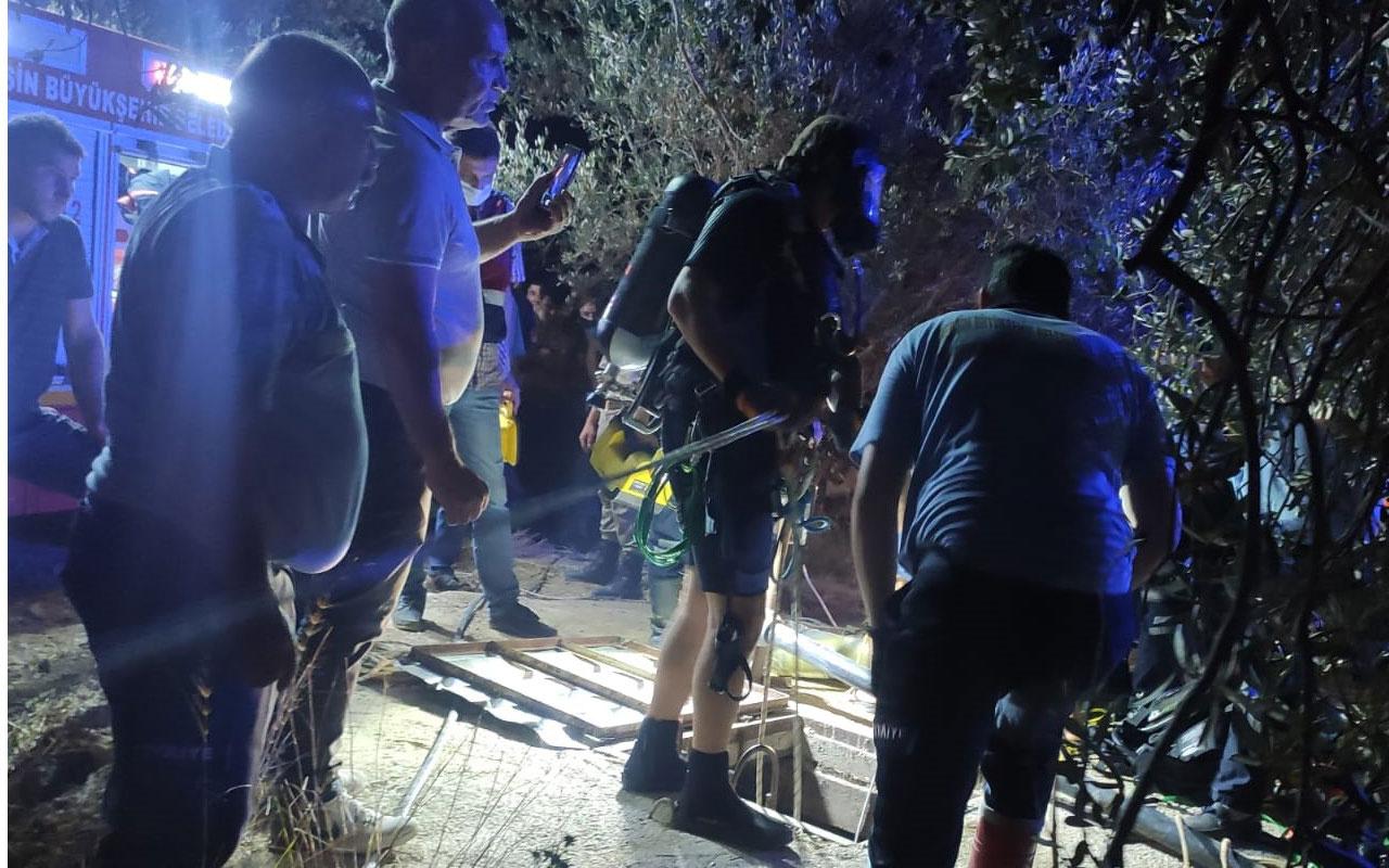 Mersin'de su kuyusuna düşen kişi öldü
