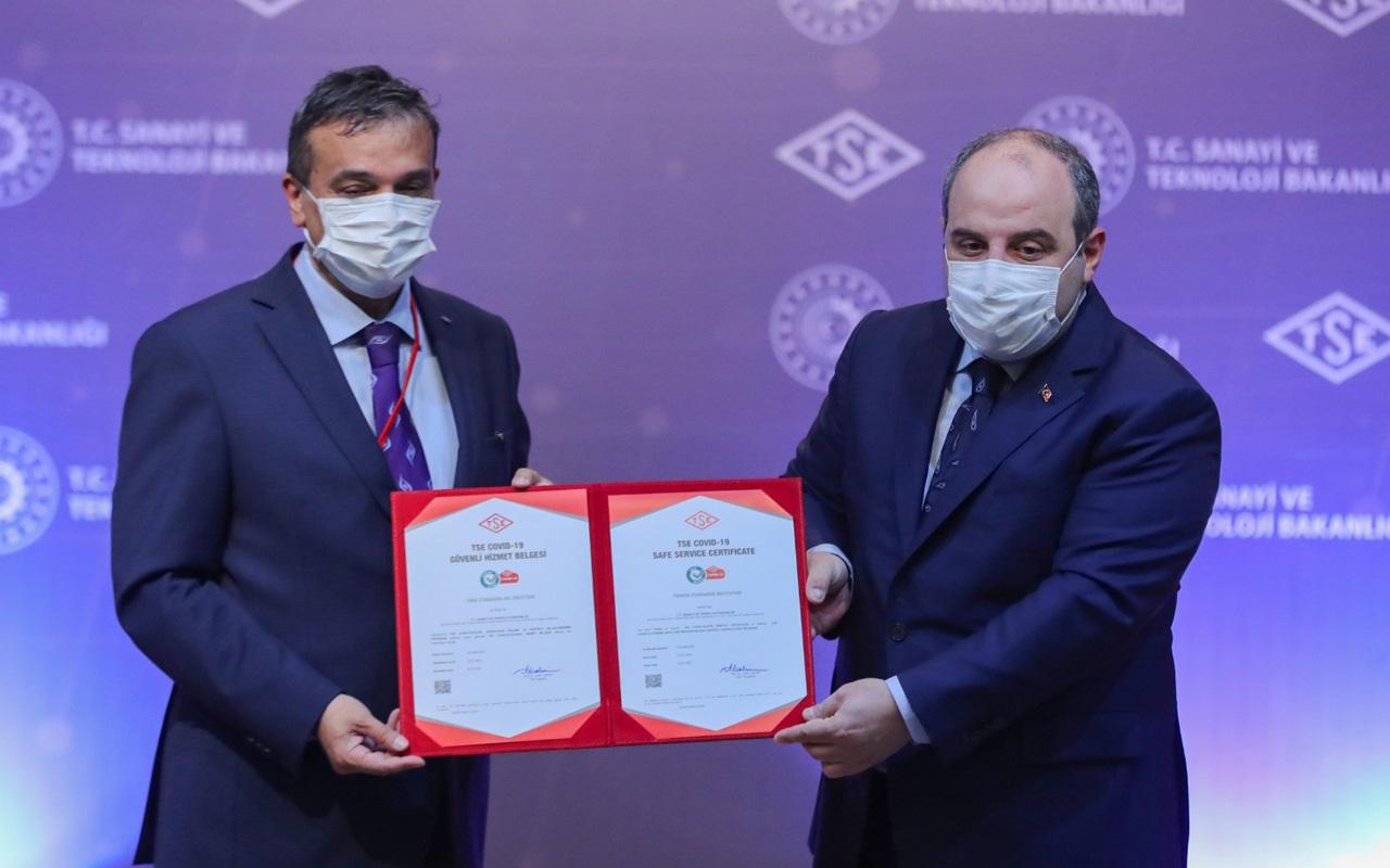 Sanavi ve Teknoloji Bakanı Varank: Yüz yüze eğitim için yürüttüğümüz çalışmalar tamamlandı