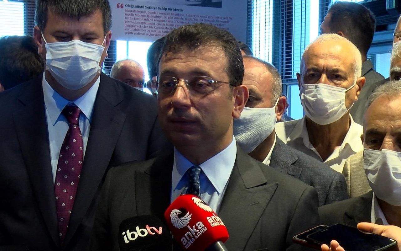 Ekrem İmamoğlu Erdoğan'la yaptığı görüşmeyi anlattı