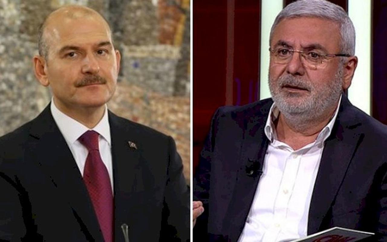 AK Partili Mehmet Metiner açıkladı dün gece Süleyman Soylu aradı
