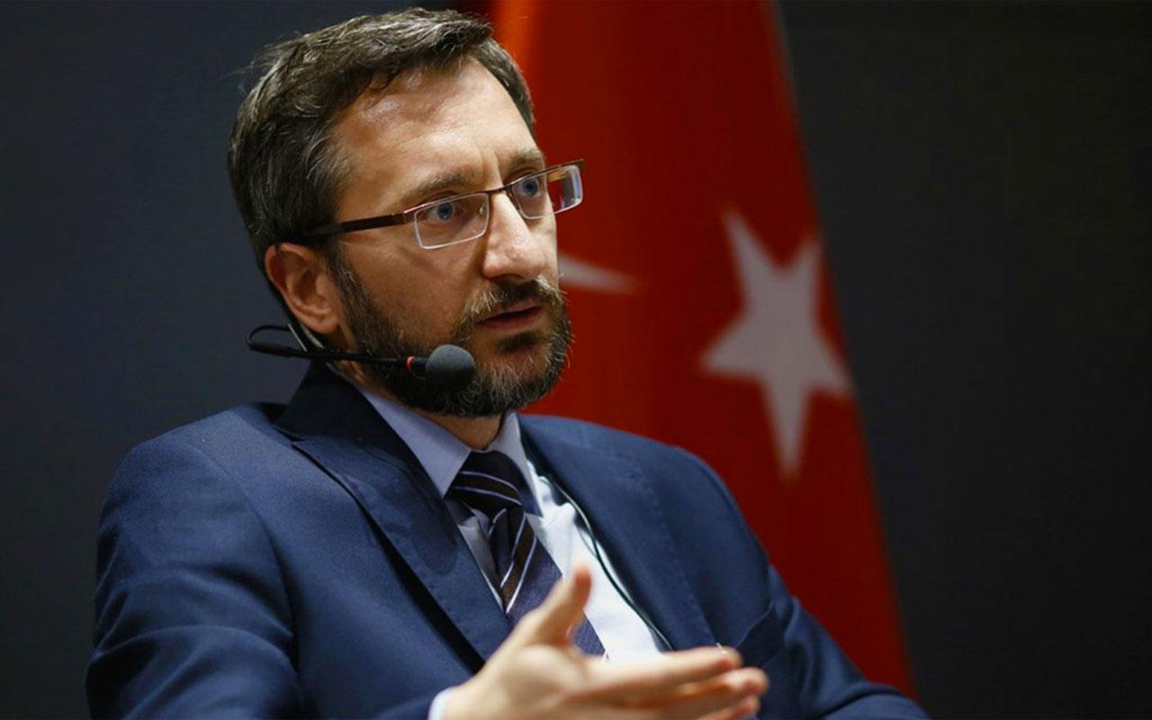 İletişim Başkanı Fahrettin Altun'dan 24 Temmuz Gazeteciler ve Basın Bayramı mesajı