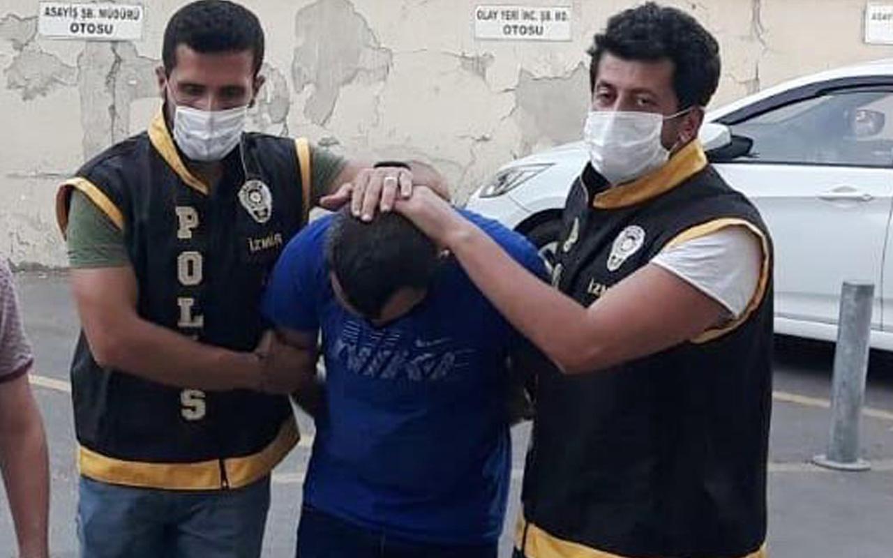 İzmir'de kadını duvara dayayıp tacizde bulundu! O sapık yakalandı