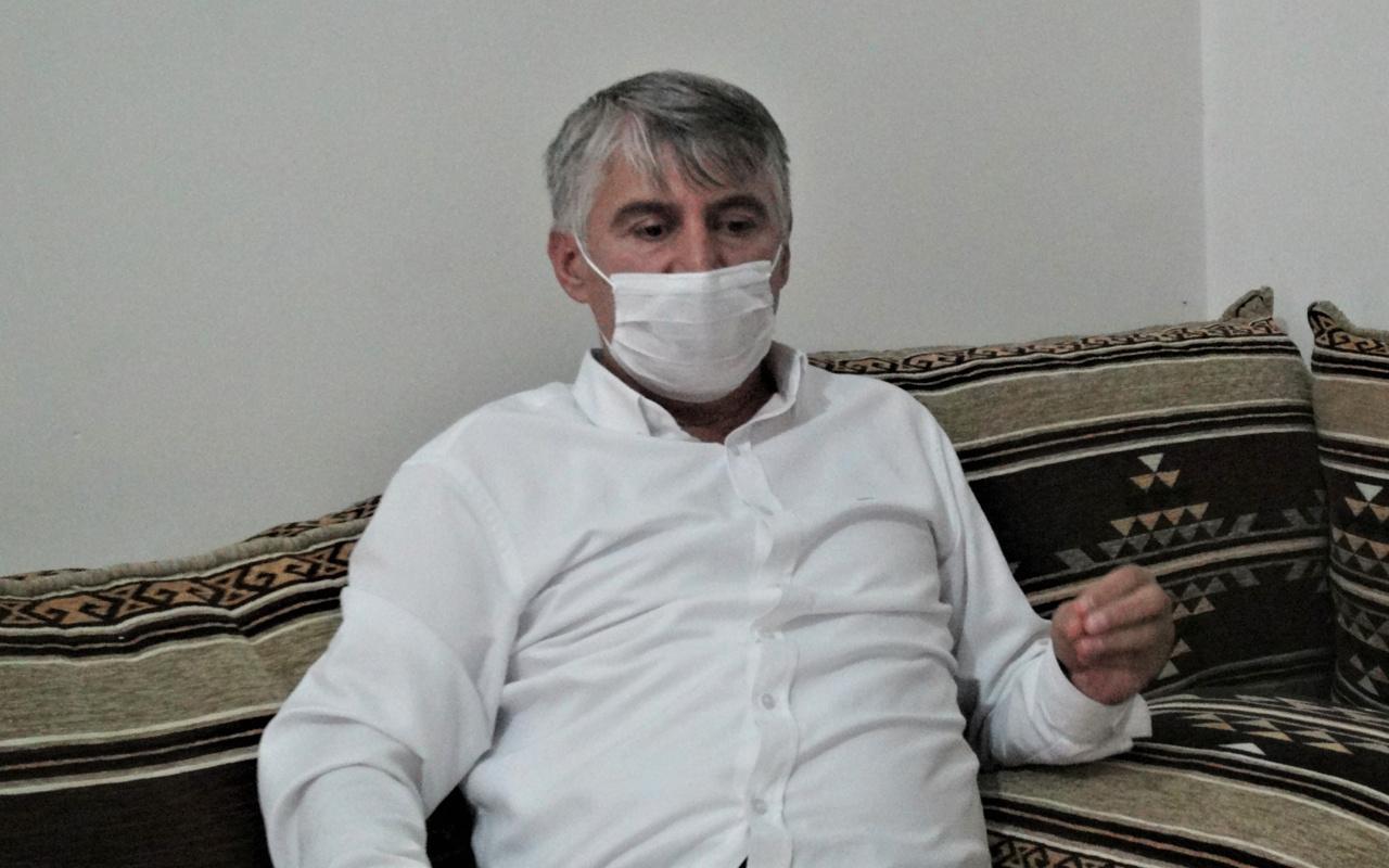 Mardin'de 'Mezarım kazılmıştı' deyip anlattı 32 günde koronavirüsü yendi