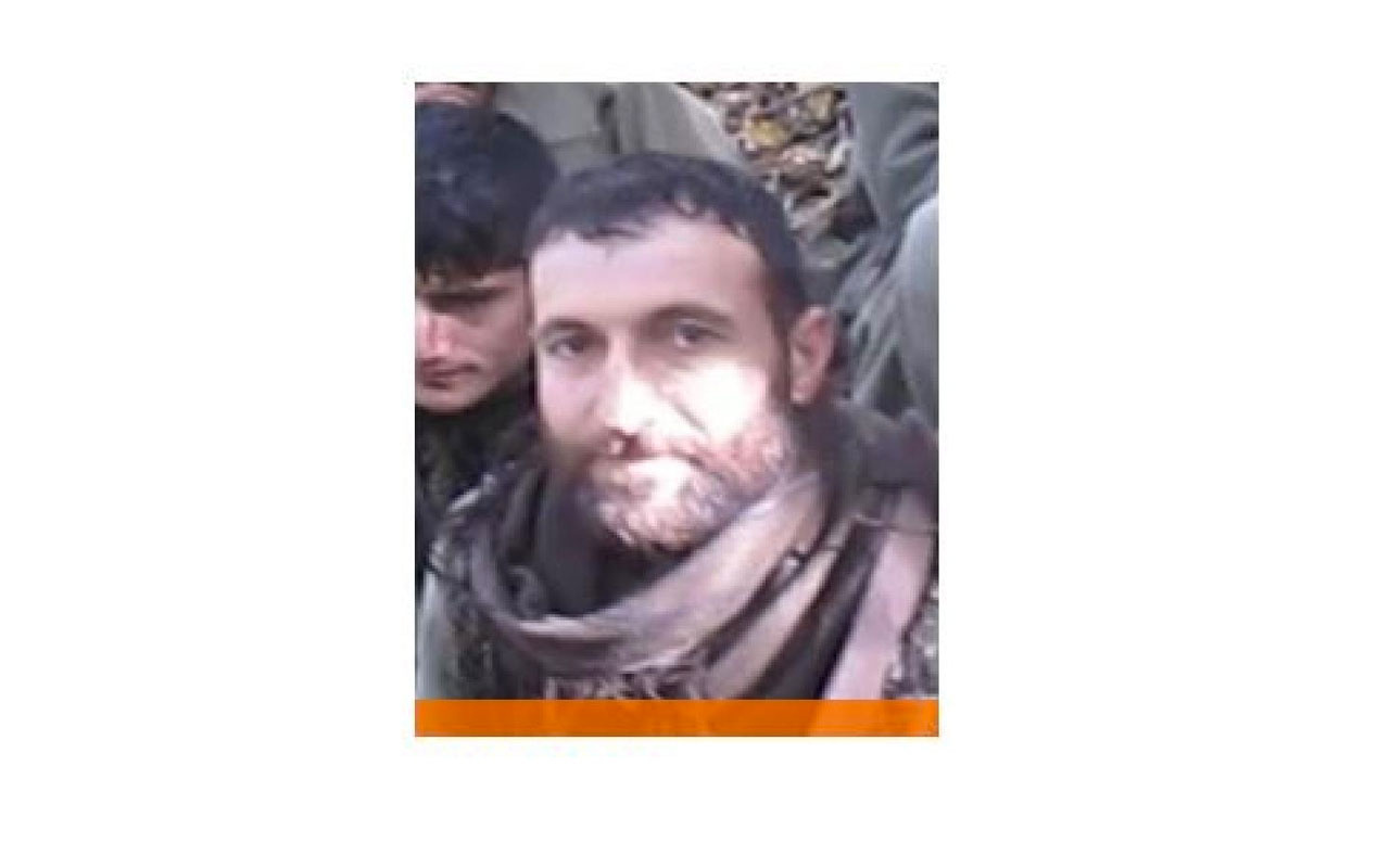 Tunceli'de etkisiz hale getirilen terörist turuncu listede çıktı