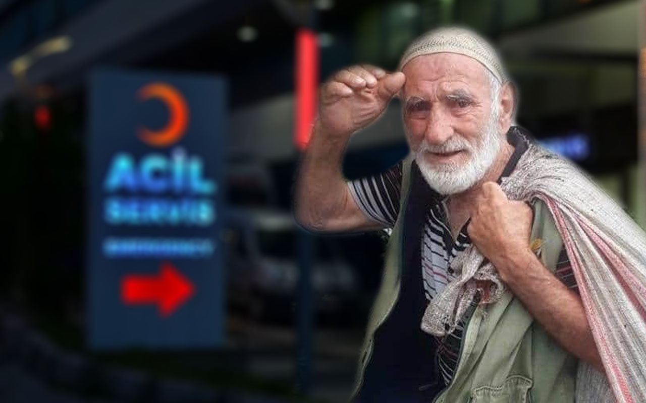 Trabzon'da sokulan yaşlı adam öldü
