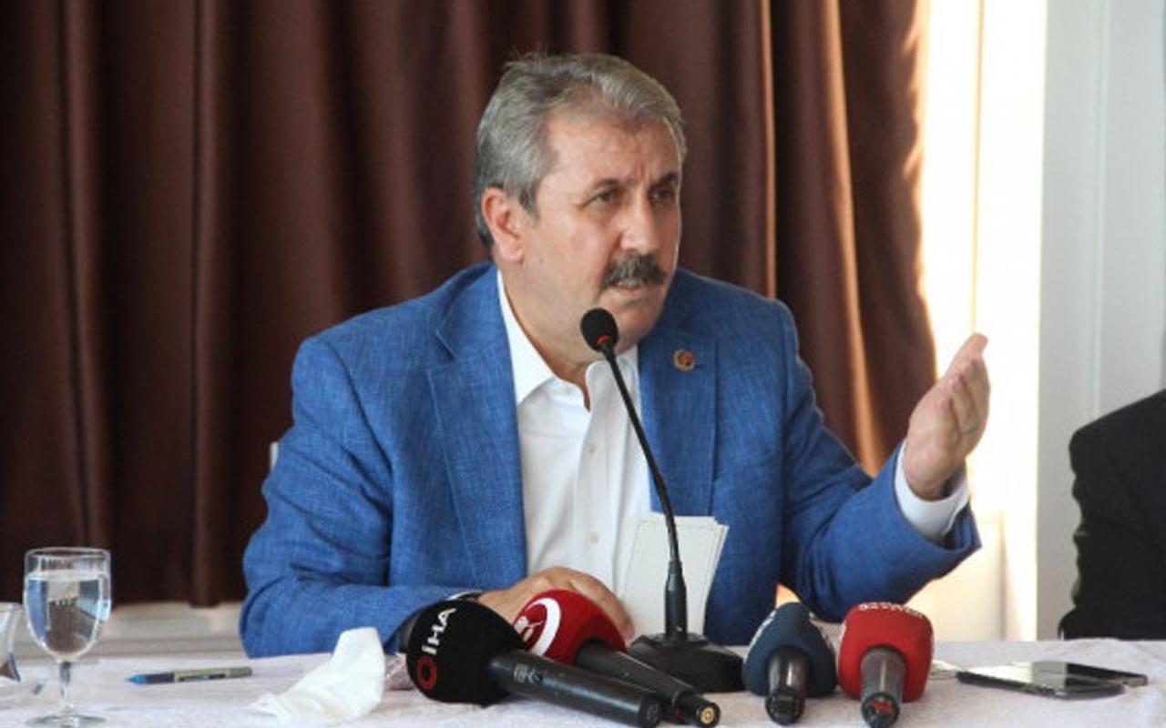 BBP lideri Mustafa Destici: İstanbul Sözleşmesi'ni yırtıp atmamız lazım