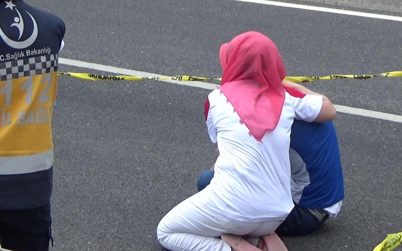Düzce'de yolcu otobüsünün çarptığı kadın hayatını kaybetti