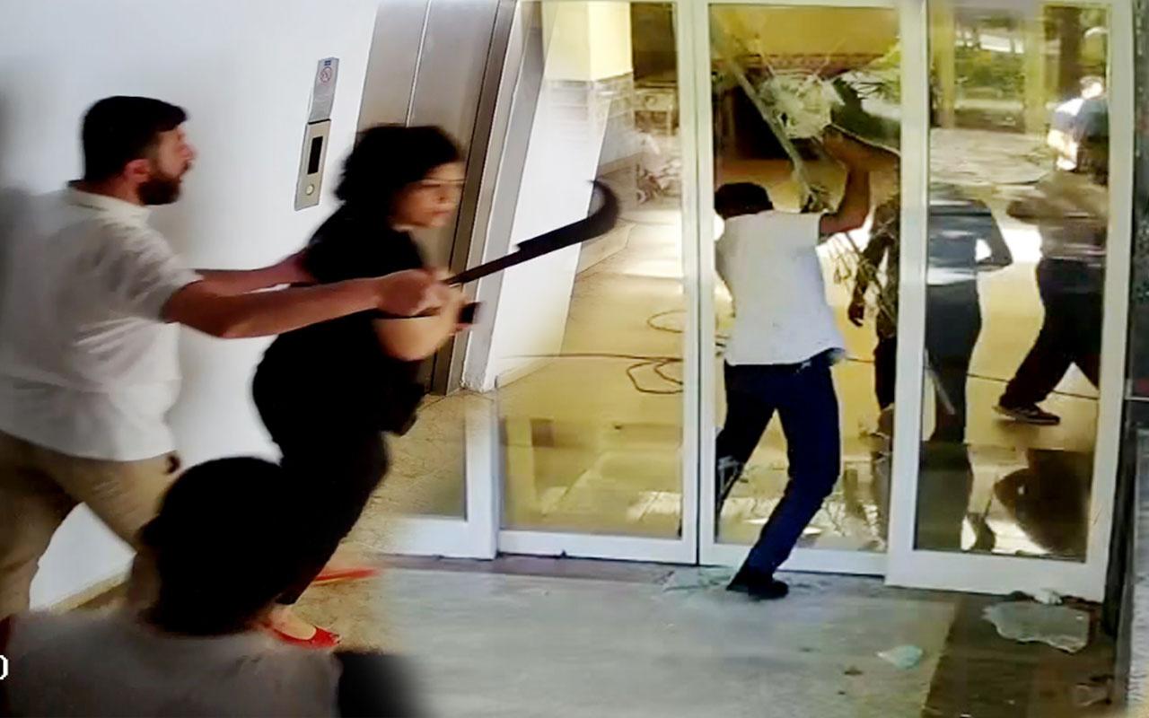 Antalya Kemer'de 4 yıldızlı oteli tahrayla bastılar dehşet anları görüntülendi