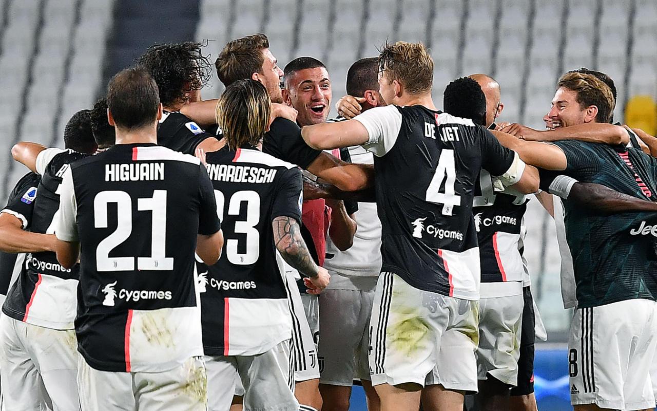 Juventus şampiyon oldu Merih Demiral Ronaldo'ya Türkçe konuşturdu