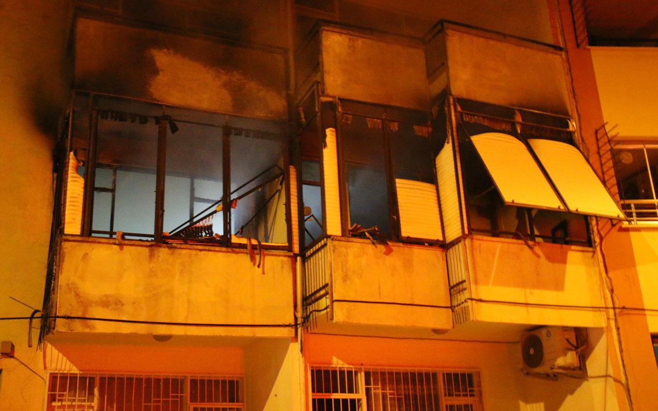 Aydın'da cezaevinden izinli çıktı babasının evini ateşe verdi