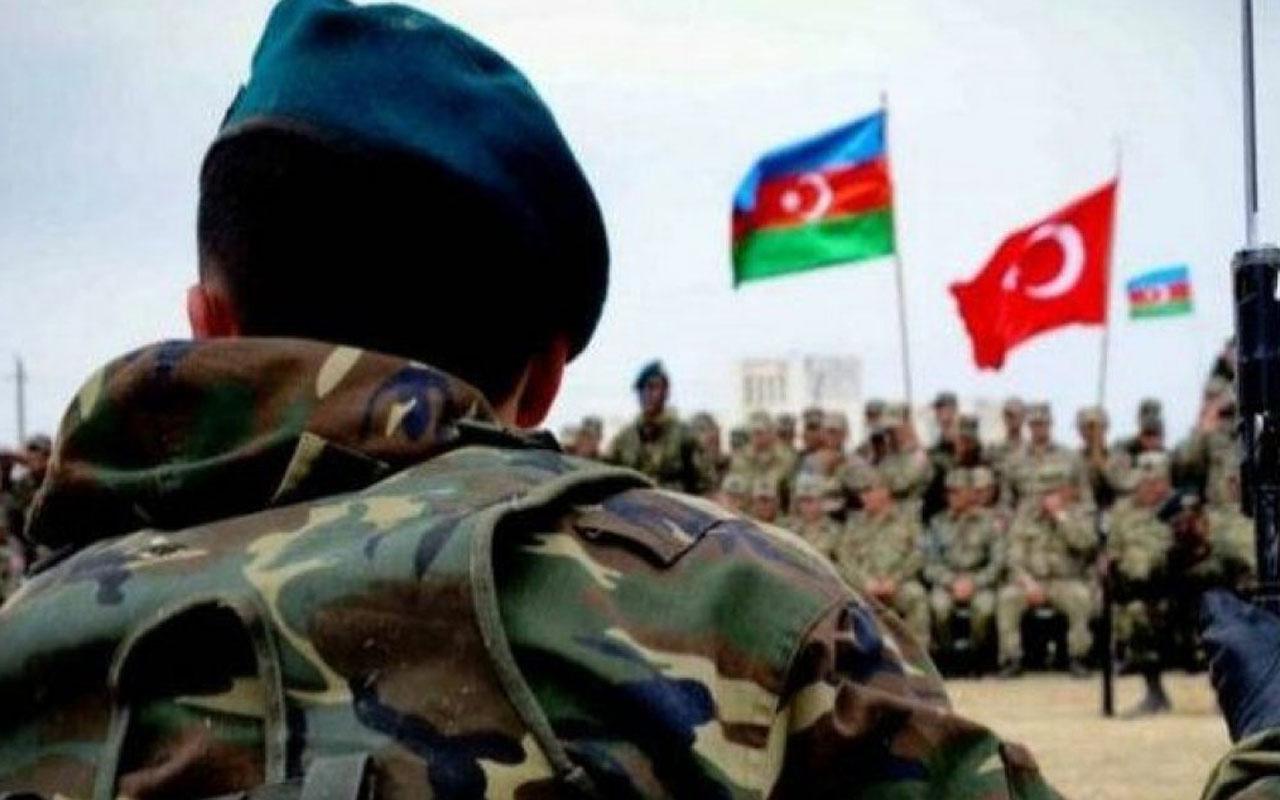 Türk askerleri tatbikat için Azerbaycan'da!