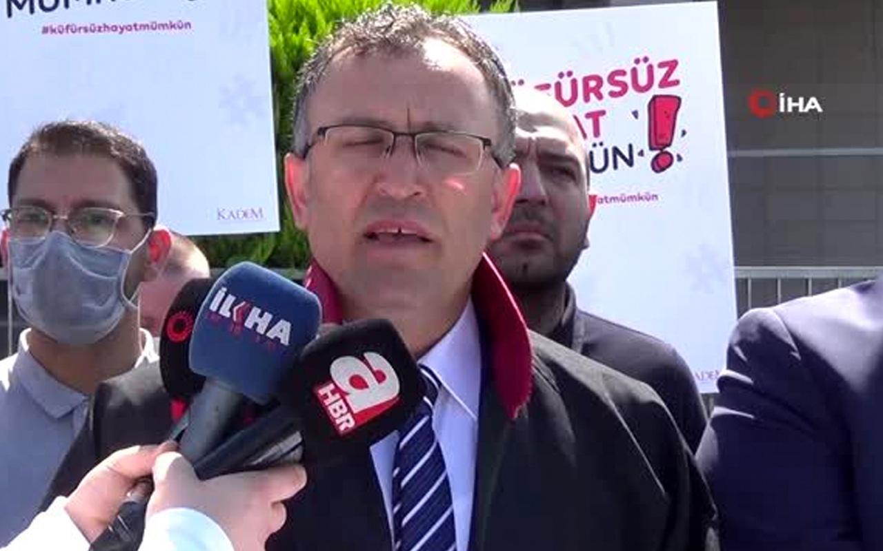 Şehit eşi ve Hilal Kaplan'a hakaret eden SP'li Ebubekir Savaşan hakkında suç duyurusu