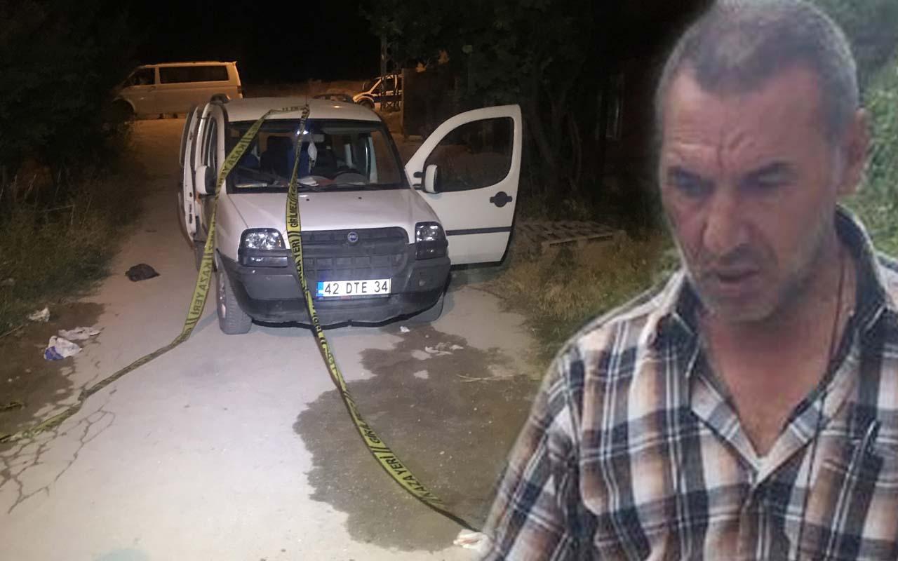 Konya'da çıkan kavgada eniştesini acımadan öldürdü