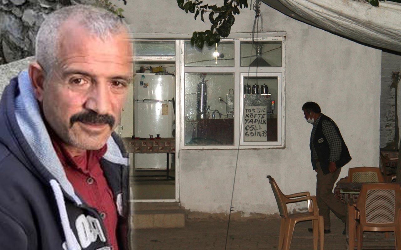 Konya'da kahvehaneci müşterisini katletti