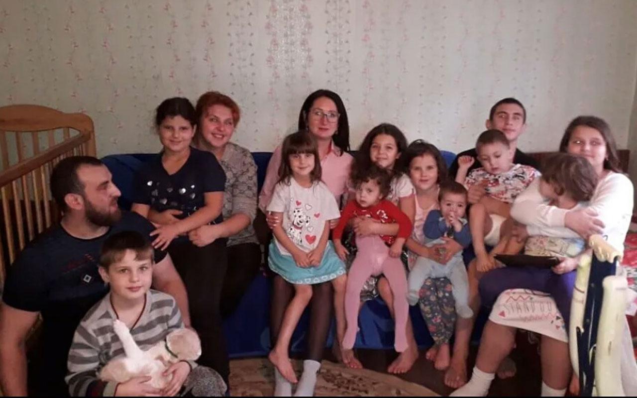 Rusya'da yaşayan 32 yaşındaki kadın 12. kez anne oldu! Hepsi aynı adamdan