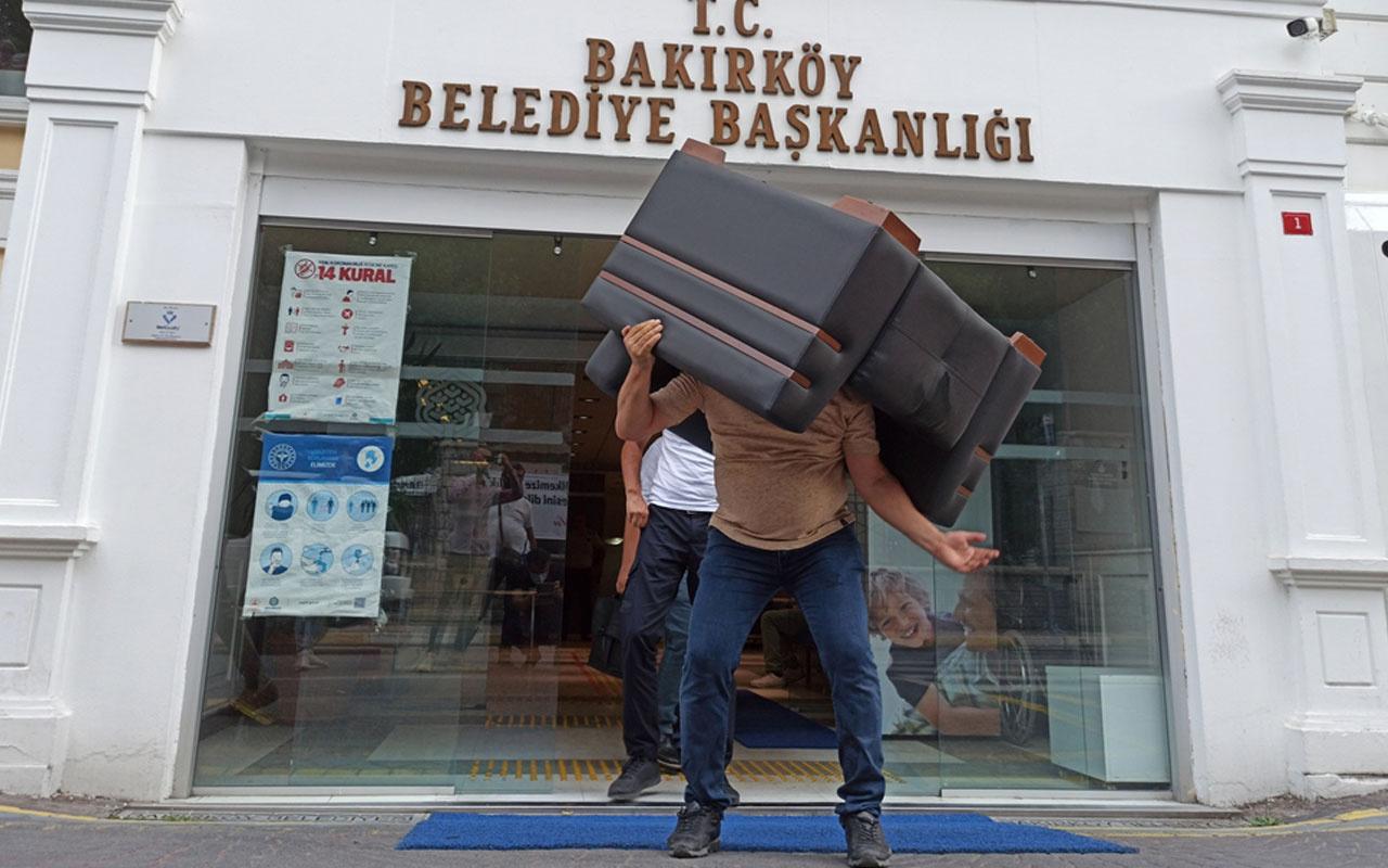 CHP'li Bakırköy Belediyesi'ne haciz! Ne var ne yok götürdüler