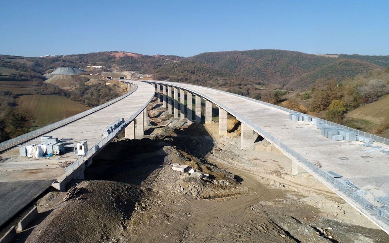 Kuzey Marmara Otoyolu'nun bir bölümü açılıyor