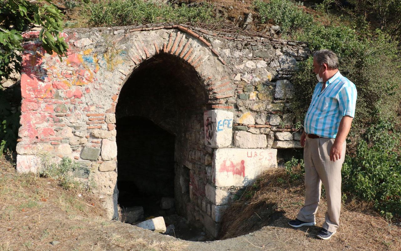 Amasya'da 200 yıllık tarihi yapıdaki su Hristiyanlar için öneme sahip