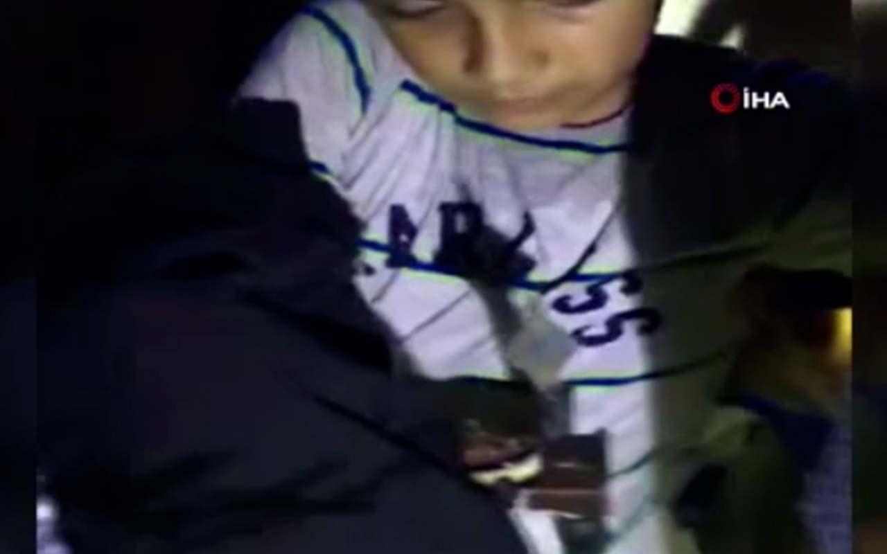 Oyun oynayan çocuğun eline demir korkuluk saplandı