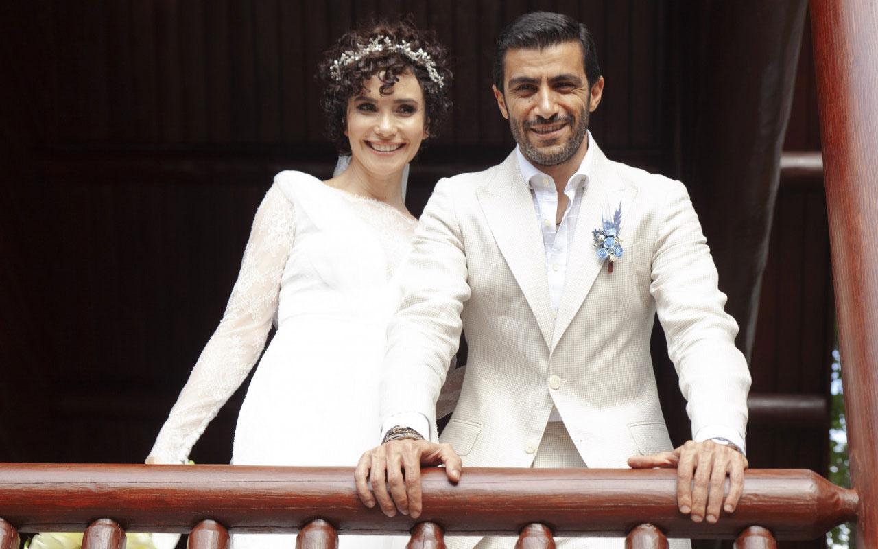 Arzum Onan nikah şahidi oldu Songül Öden iş insanı Arman Bıçakçı ile evlendi