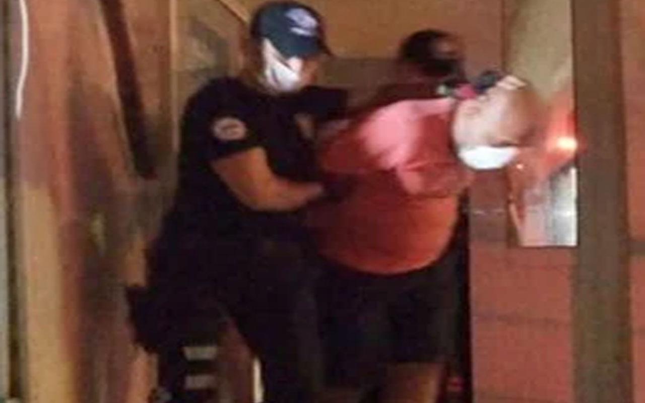 Şile'de Türk bayrağına saldıran kişi tutuklandı