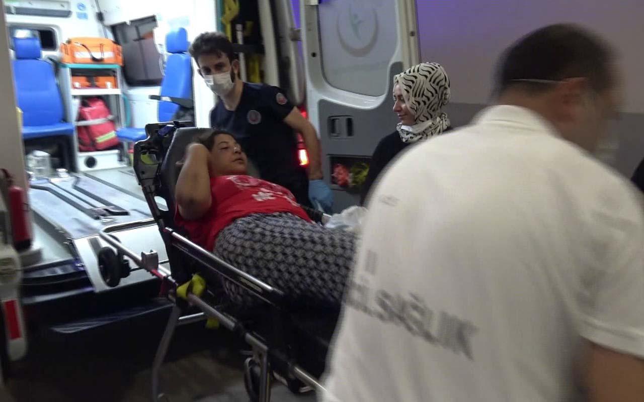 Adana'da taciz ettiği kadını dövüp otomobilden attı