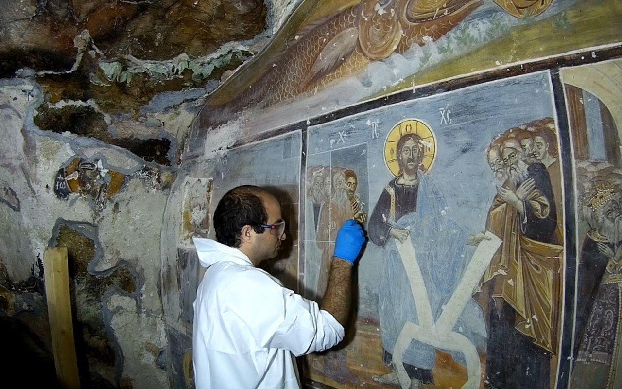 Sümela Manastırı'nda ikinci restorasyon etabı tamamlandı! Çalışmalar böyle görüntülendi