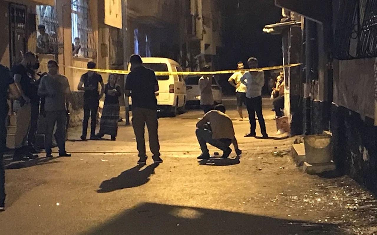 Adana'da bir eve bilye ile güçlendirilmiş EYP atıldı